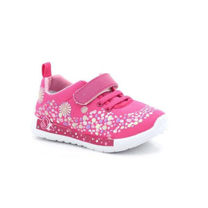 Itsy-bitsy Girls Velcro Flex School Shoes-ITSY BITSY-Shumaker Shoes