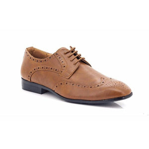 Lepascha Men's Lace-up Ankle Brogues-LEPASCHA-Shumaker Shoes