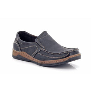 Lepascha Men's Slip-on Wide Shoes-LEPASCHA-Shumaker Shoes