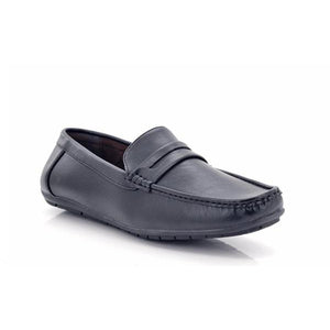 Lepascha Men's Slip-on Toe Bit Loafers-LEPASCHA-Shumaker Shoes