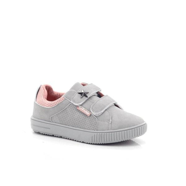 Jack-n-Jill Girls Double Velcro Ankle Shoes