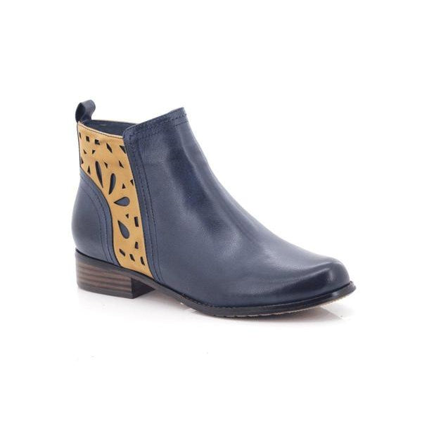 Bellasiba Ladies Patterned Ankle Boots