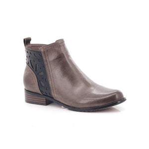Bellasiba Ladies Patterned Ankle Boots-BELLASIBA-Shumaker Shoes