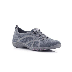 Skechers Ladies Lace up Sneakers-SKECHERS-Shumaker Shoes