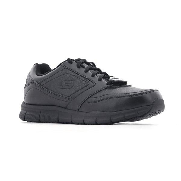 Skechers Men Lace up Workwear Shoes