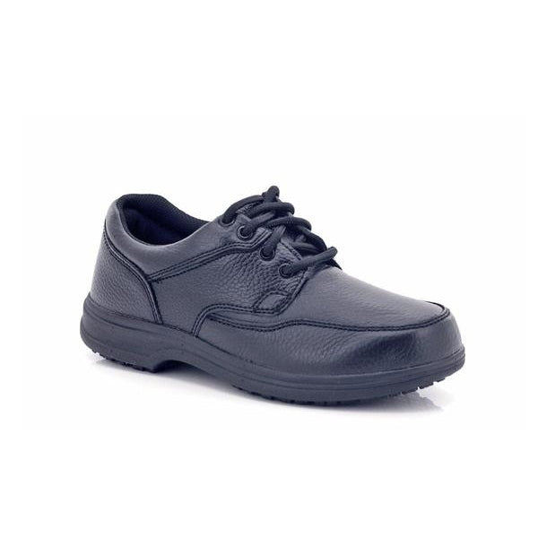 Safe-T Step Men's Lace-up Wide-Fit Ankle Shoes