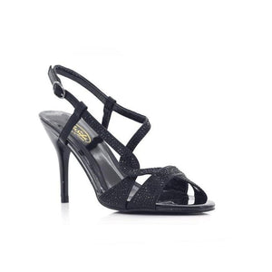 H61 Black BELLASIBA LADIES SANDALS at Shumaker