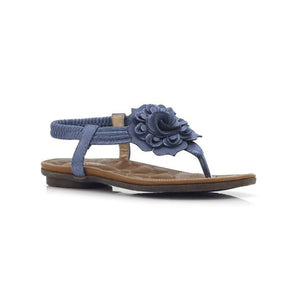 H70-LADIES SANDALS-BELLASIBA-Blue-36-Shumaker Shoes