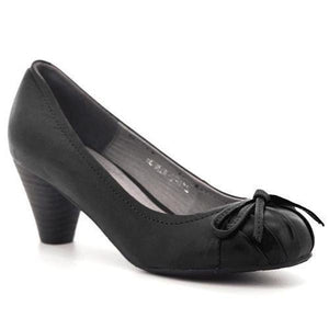 M2162-LADIES SHOES-FINESSE-Black-37-Shumaker Shoes