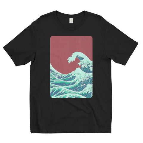 T-shirt : RED_WAVE