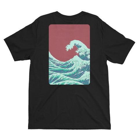 2Sides T-shirt : RED_WAVE