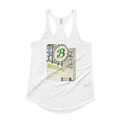 "17 The Broadway- ""T"" Stop Tank (Front Only)"