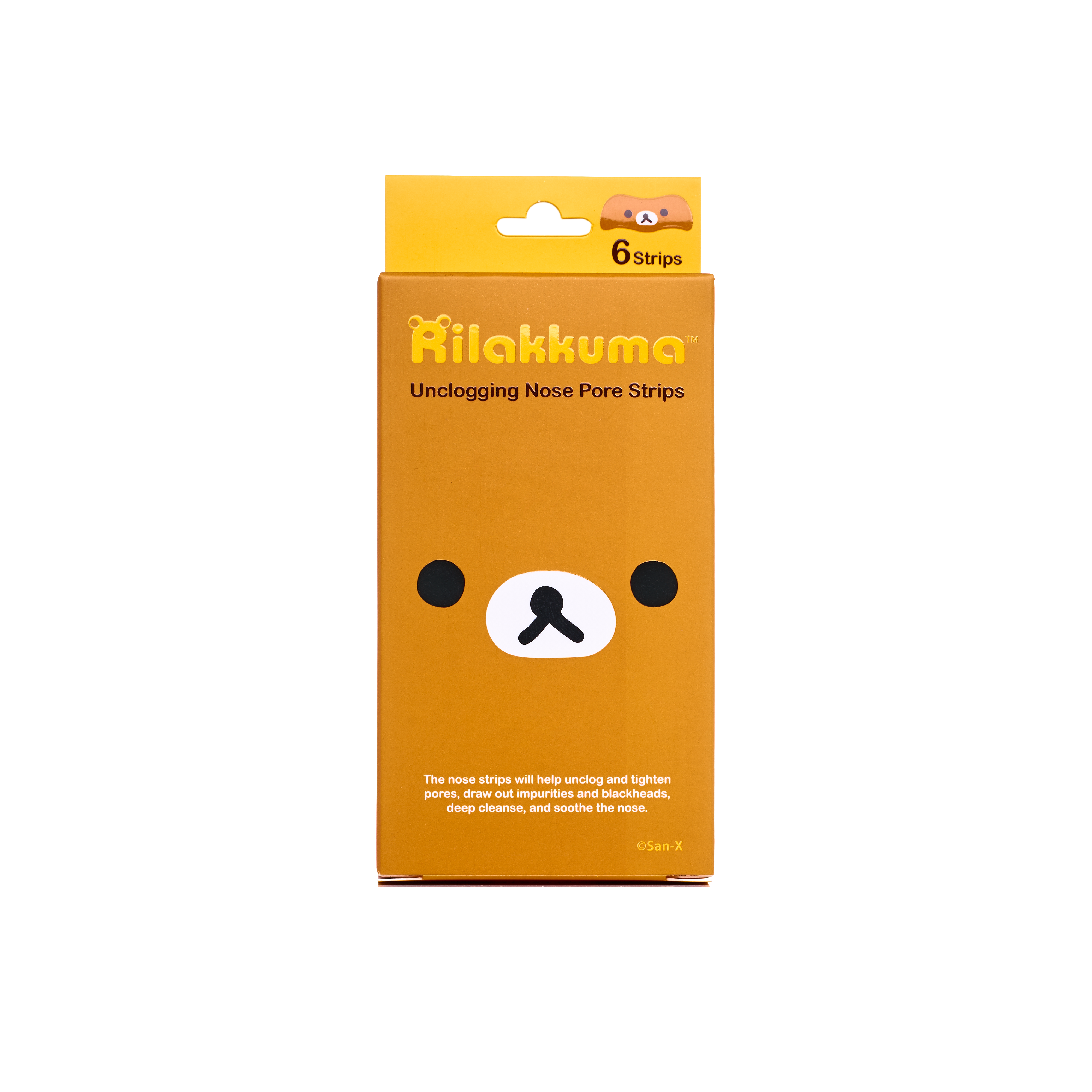 Rilakkuma Unclogging Nose Pore Strips