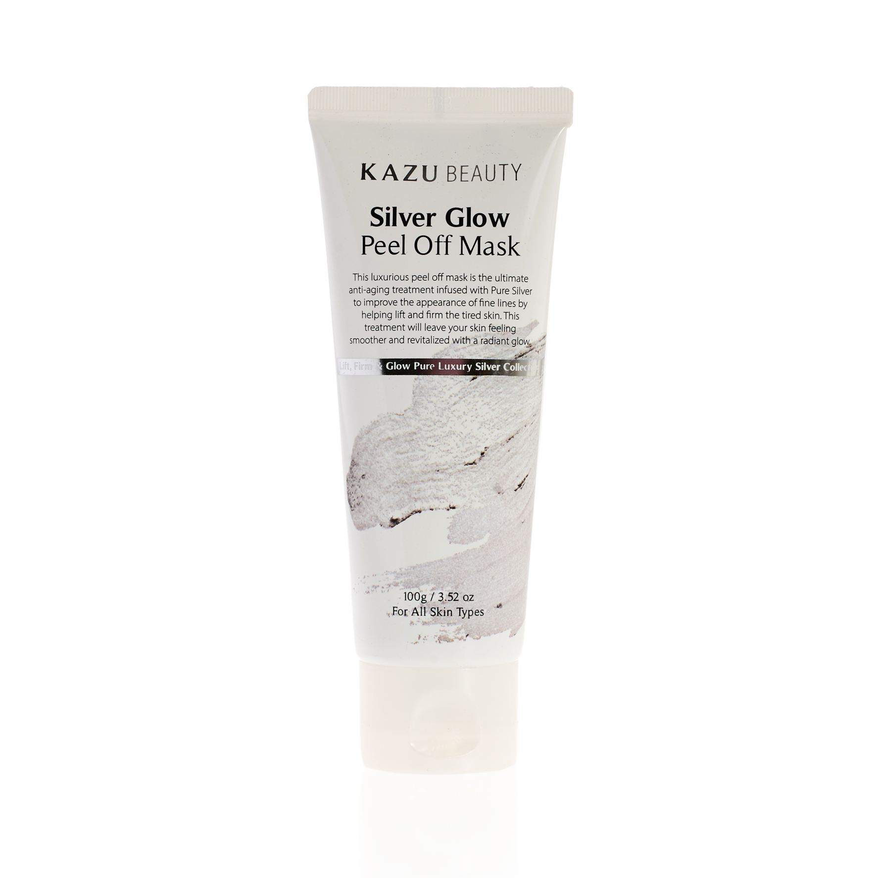Peel off mask silver