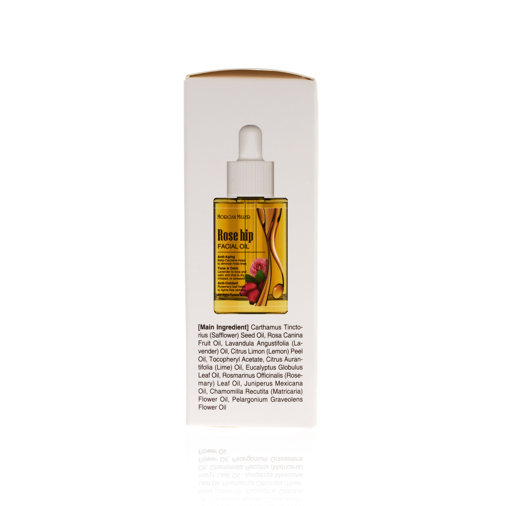 Morgan Miller Rose Hip Facial Oil packaging