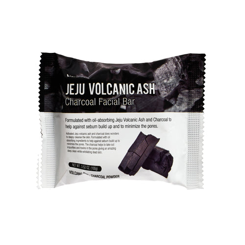 Jeju Volcanic Ash Charcoal Facial Bar
