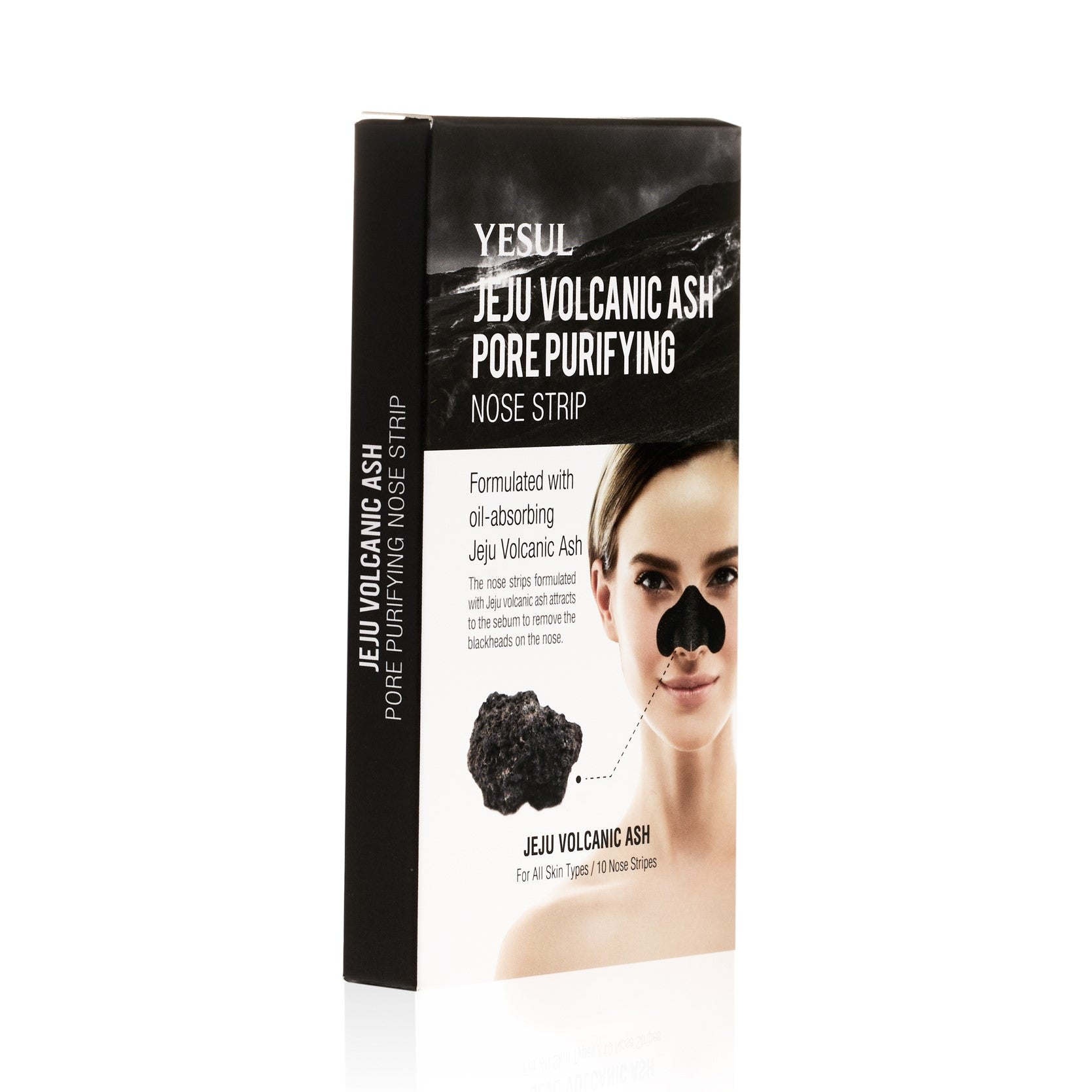 YESUL Jeju Volcanic Ash Pore Purifying Nose Strip