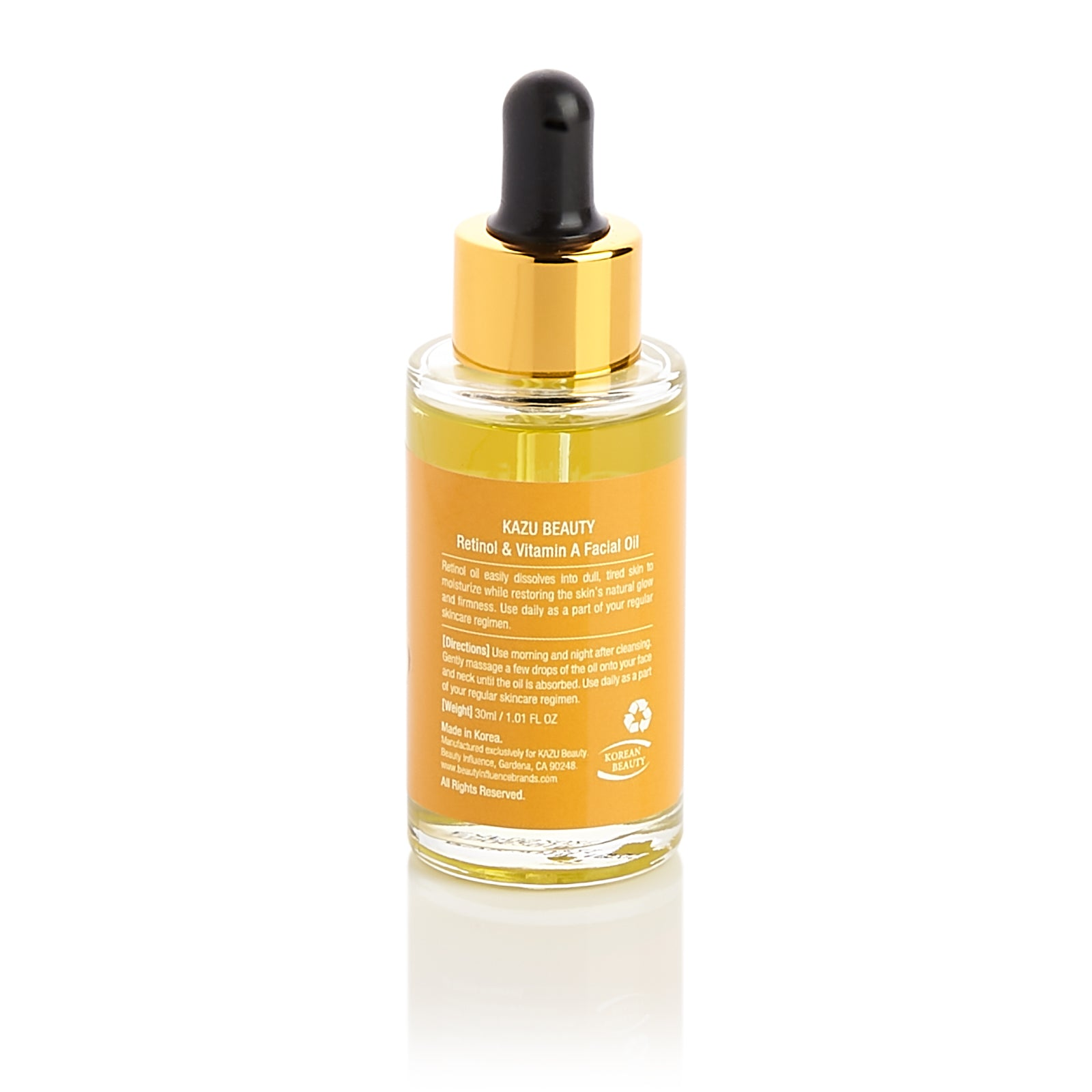 KAZU Beauty Retinol and Vitamin A Facial Oil