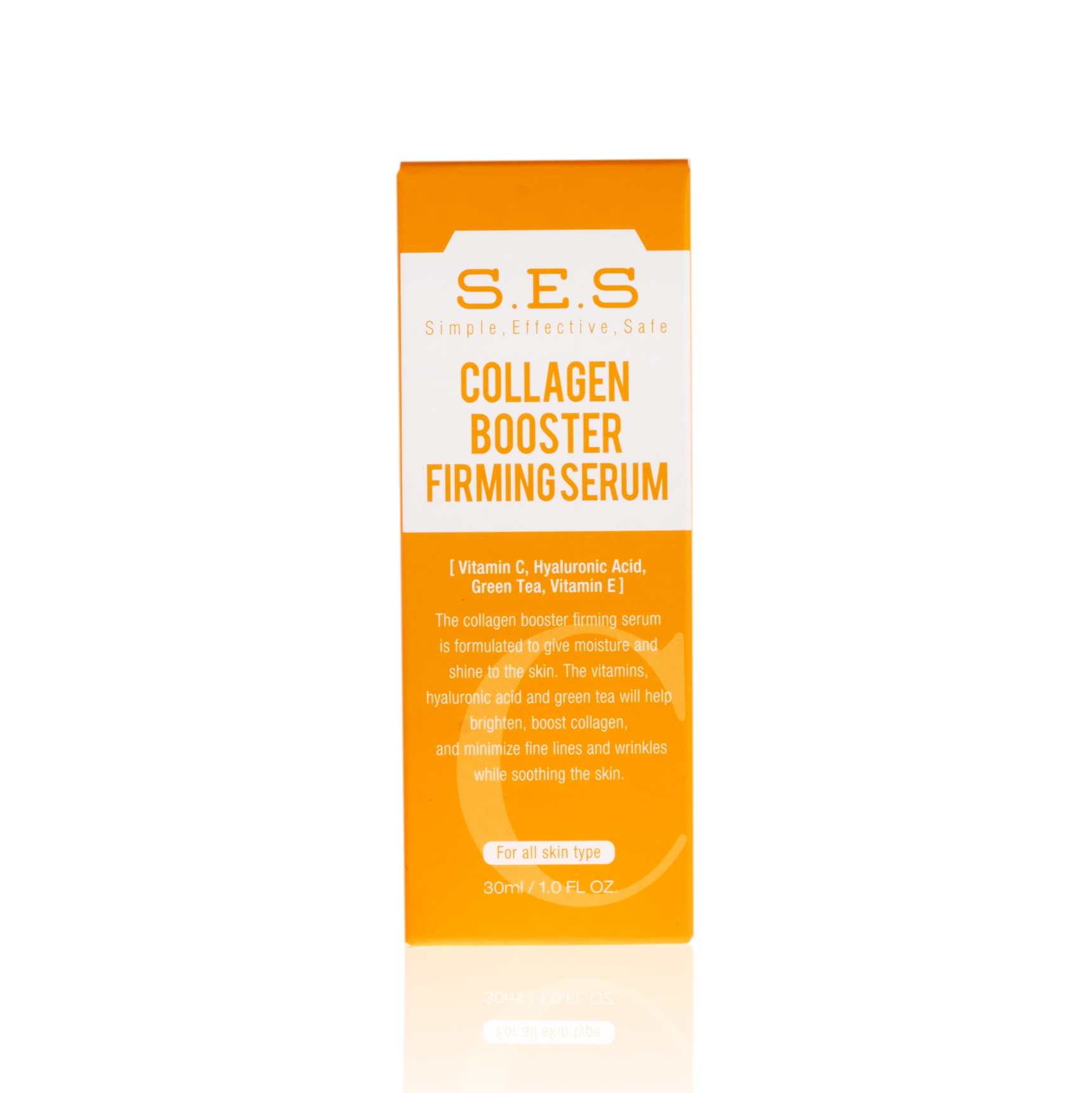 S.E.S. Collagen Booster Firming Serum packaging
