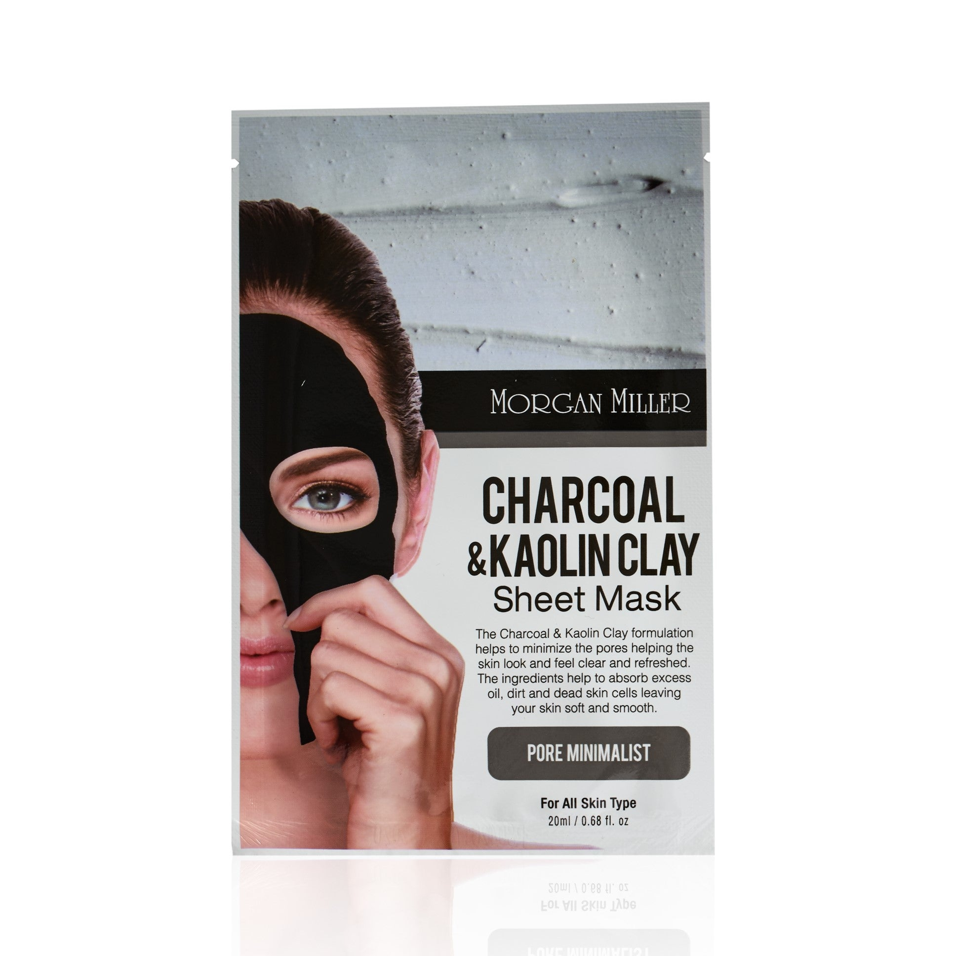 Morgan Miller Charcoal & Kaolin Clay Sheet Mask
