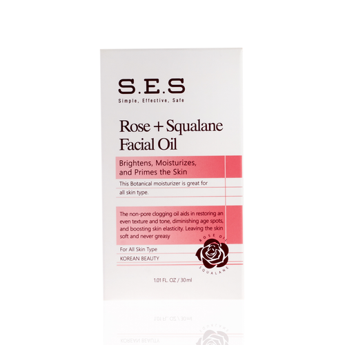 Squalane Rose Glow Facial Oil 1.01 fl oz.