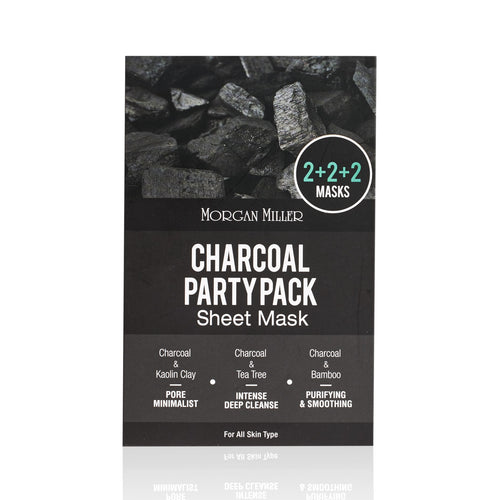 Charcoal Party Pack 2+2+2 Sheet Masks