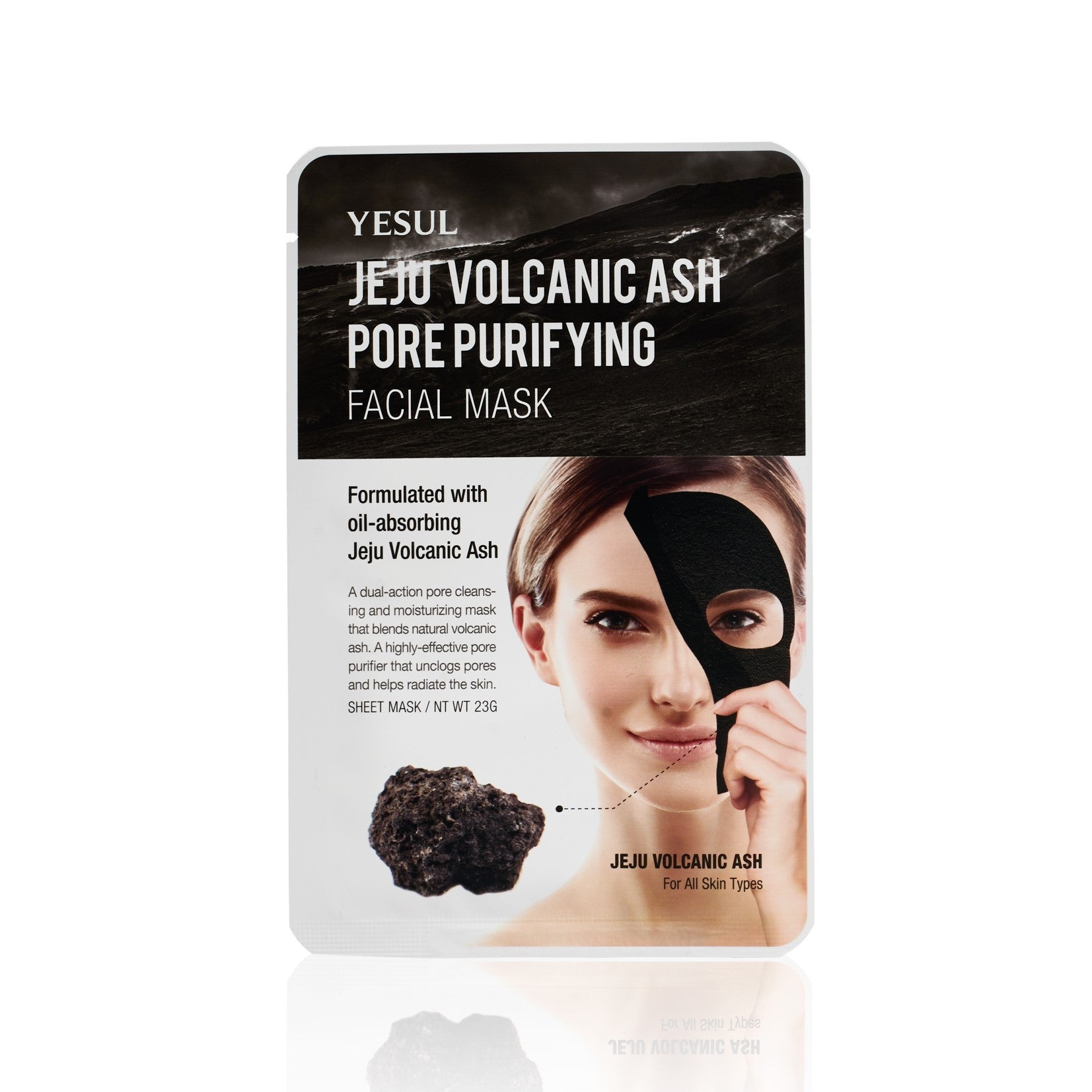 YESUL Jeju Volcanic Ash Pore Purifying Sheet Mask