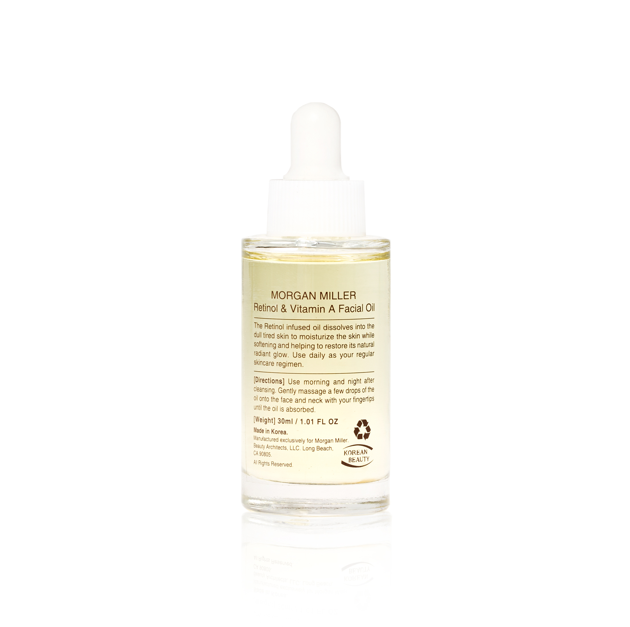 Morgan Miller Retinol & Vitamin A Facial Oil