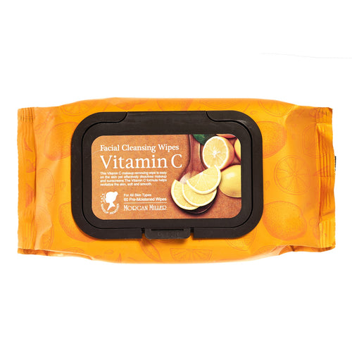 Vitamin c face wipes, makeup remover towelettes