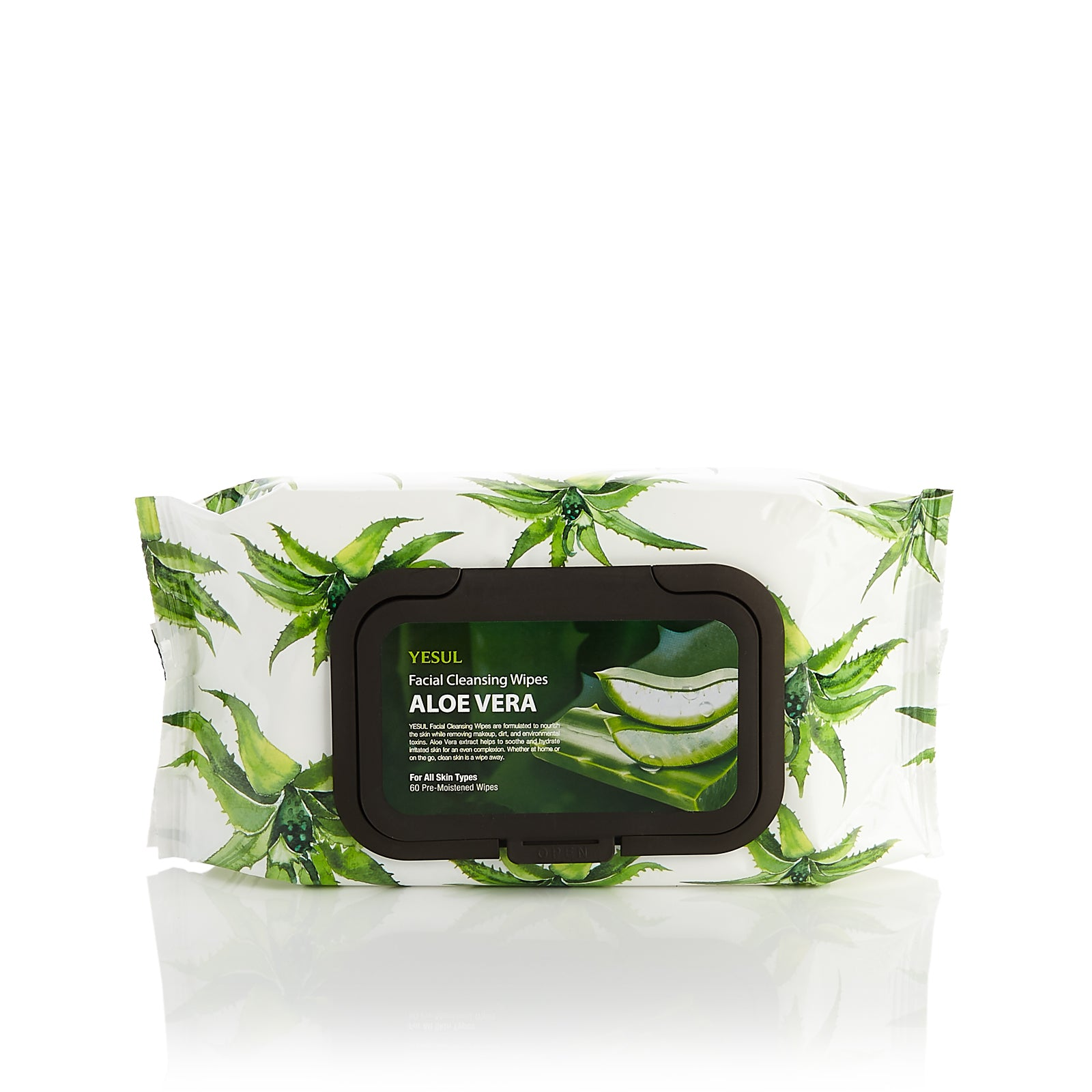 YESUL Aloe Vera Facial Cleansing Wipes