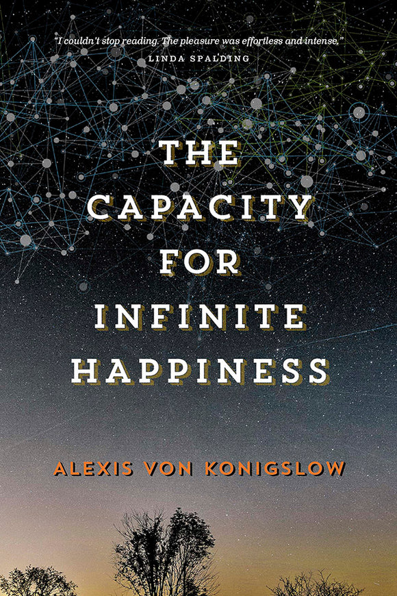 Book Cover: The Capacity for Infinite Happiness, Alexis von Konigslow