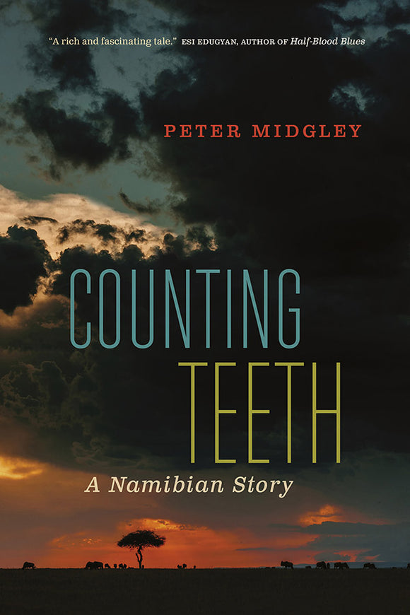 Book Cover: Counting Teeth: A Namibian Story, Peter Midgley