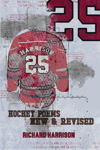 Book Cover: 25: Hockey Poems Selected and New, Richard Harrison