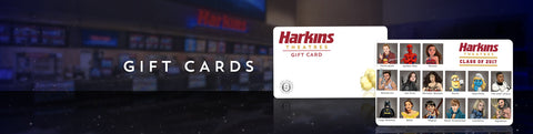 Harkins $25 Gift Card