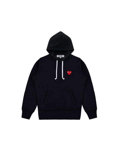 PLAY RED HEART HOODIE