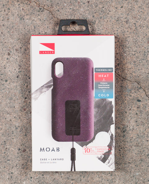 Moab Case for iPhone X