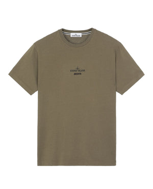 Stone Island SS T-SHIRT OLIVE