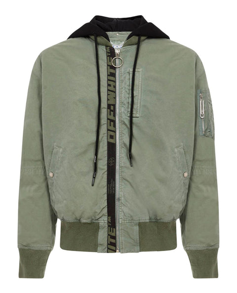 ARROW VINTAGE BOMBER HEDGE GREEN BLACK