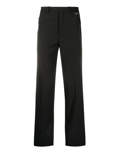 TUXEDO ZIPPED CLEAN PANT BLACK NO COLOR
