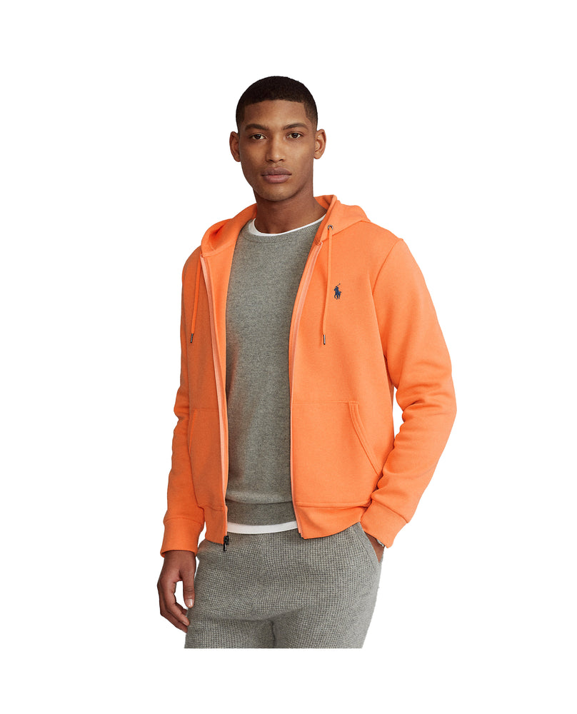 Ralph Lauren Double Knit Tech Fleece Hoodie Peach