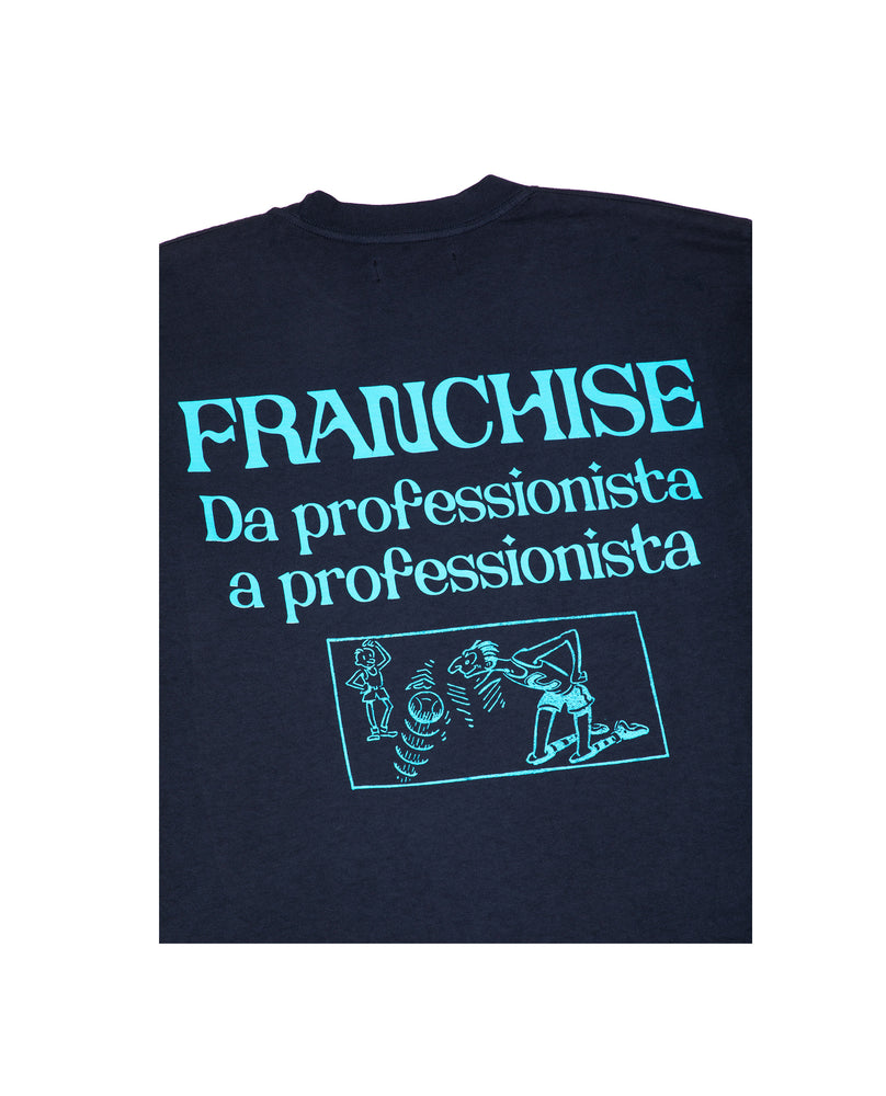 Franchise Keep It Professional Long Sleeve Tee Black