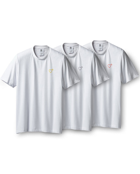3P PACK TEE HUMAN MADE WHITE