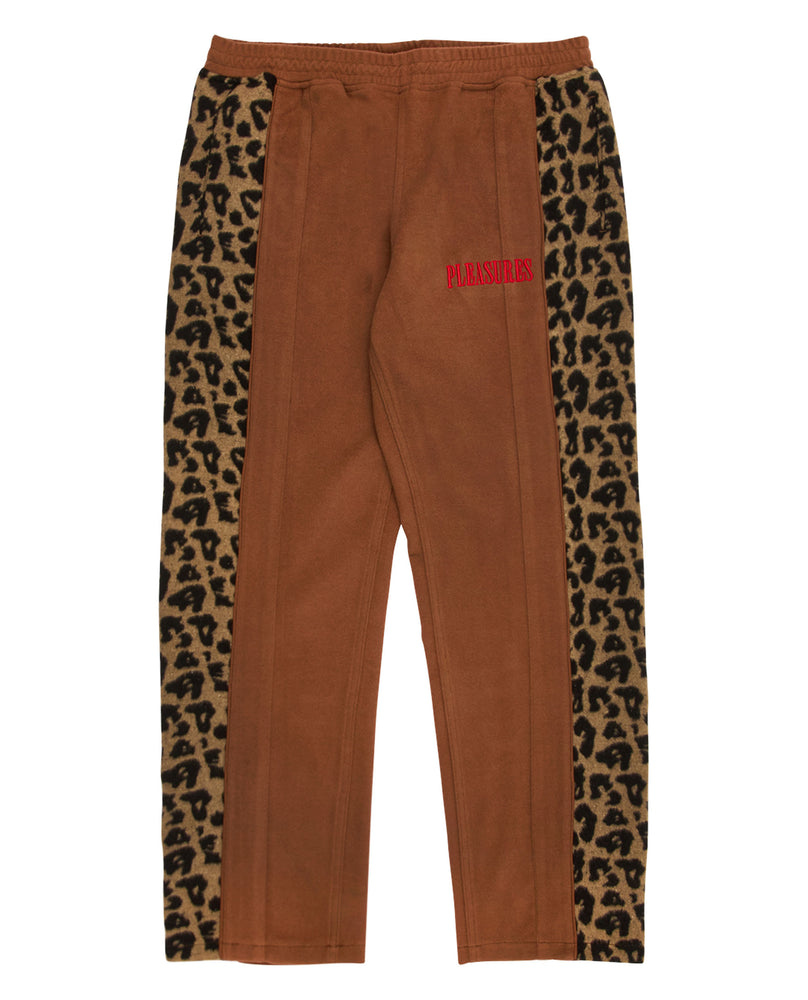 Pleasures Memories Velour Pant Brown