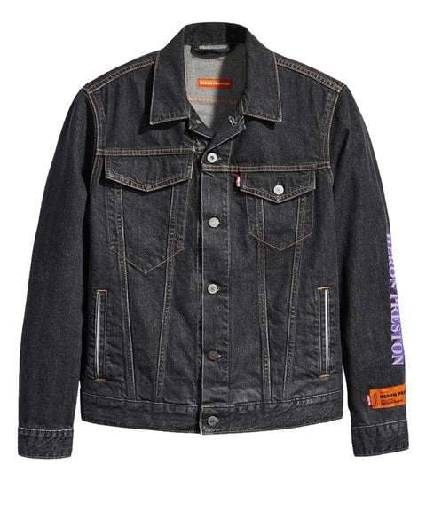 HP LEVI'S TRUCKER JKT CONCRETE J BLACK WASH