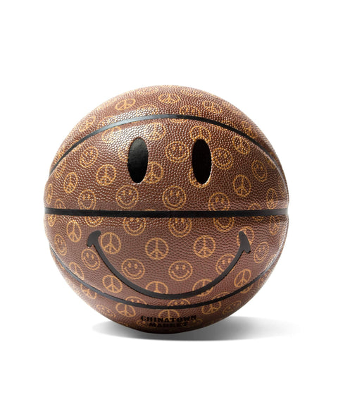SMILEY CABANA BASKETBALL-BROWN