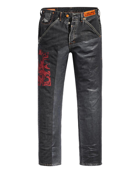 HP LEVI'S 501 BLACK WASH FUCHSIA