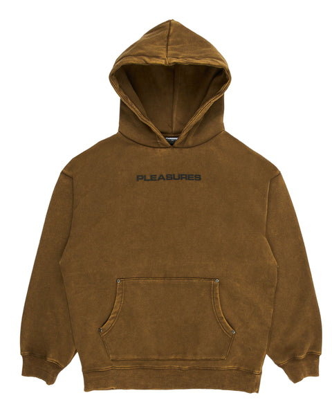 Burnout Dyed Hoody Olive