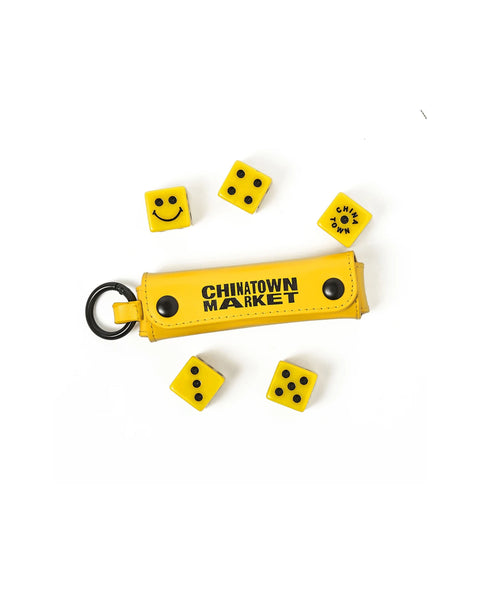 SMILEY DICE 5 SET(WITH CASE)