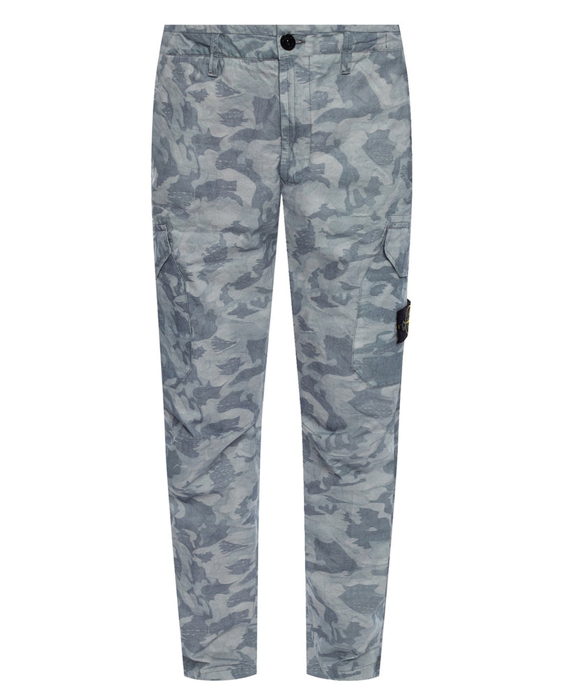 Stone Island 323Ed Big Loom Camo Trousers