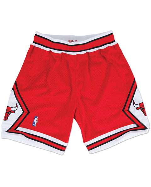 CHICAGO BULLS SHORTS RED